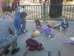 Parkta TKP2 çocukları