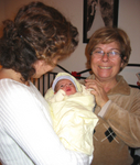Anane ve teyze ile / With grandma and auntie