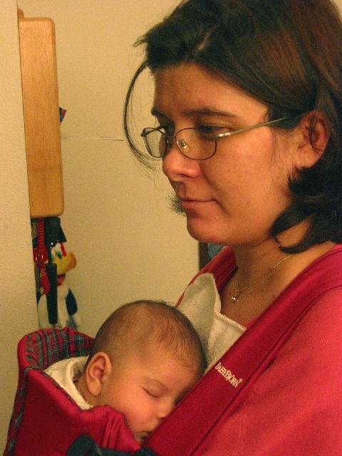 Testing BabyBjorn / Anakucagi Testi