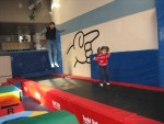 Ella's burthday: bouncing