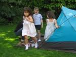 Hem bahçede oynadılar... (Duru, Rachel, Tanya)