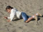 San Francisco'da iki arada bir derede plaj eğlencesi