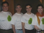 LeapTag team at Web2.0 Expo party