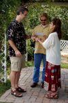 Rehearsing exchanging rings