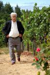 Gun's father in the vineyard